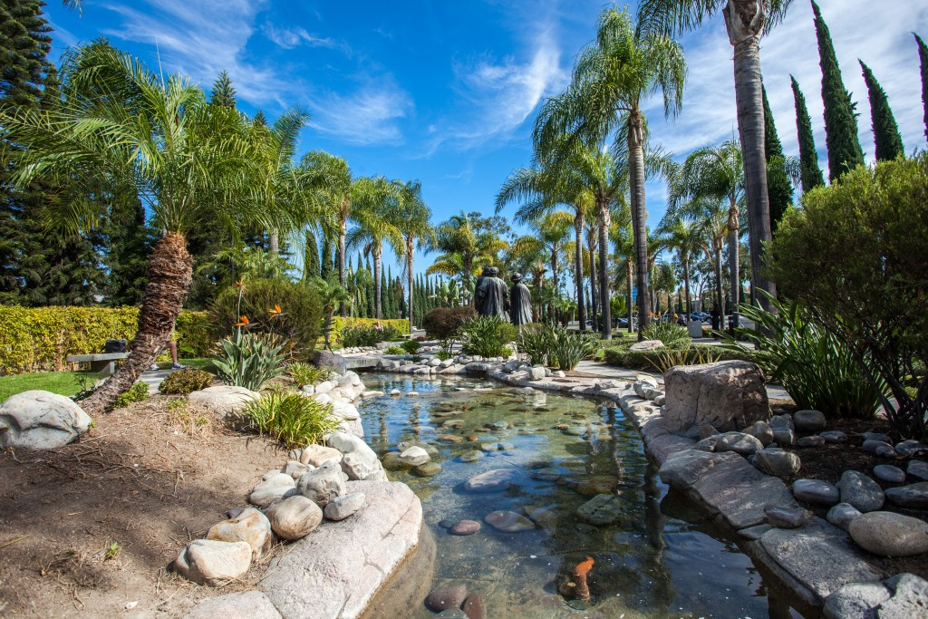 Cathedral Memorial Gardens: Located At Christ Cathedral